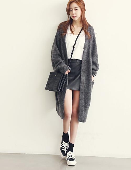 Nâng tầm phong cách với chân váy da - 4