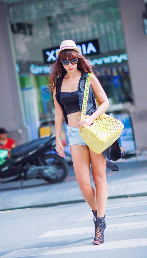 4 cách đối phó với quần ngắn của người đẹp Việt - 11