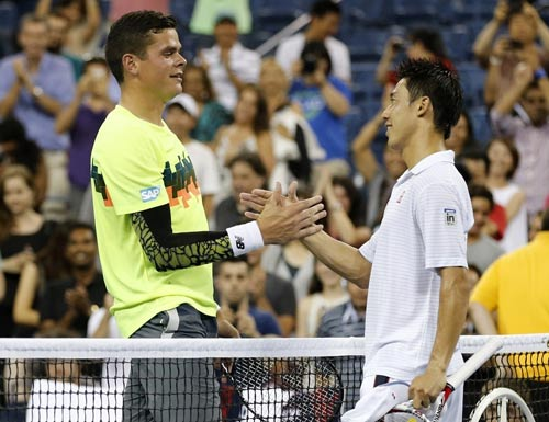 Nishikori - Raonic: 3 set kịch chiến (CK Japan Open) - 1