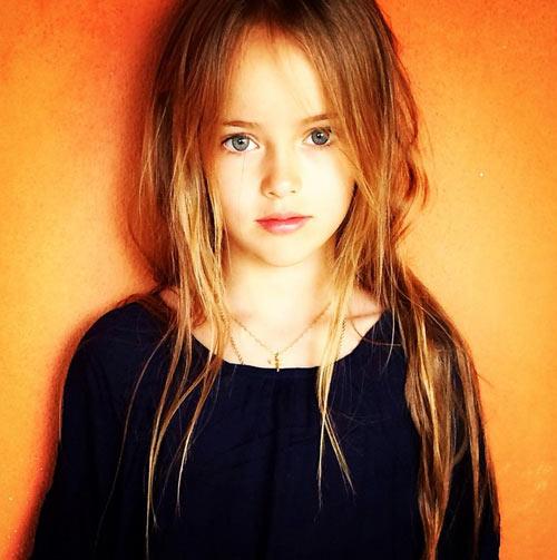 Vẻ đẹp thần tiên của cô bé xinh đẹp nhất nước Nga - 4