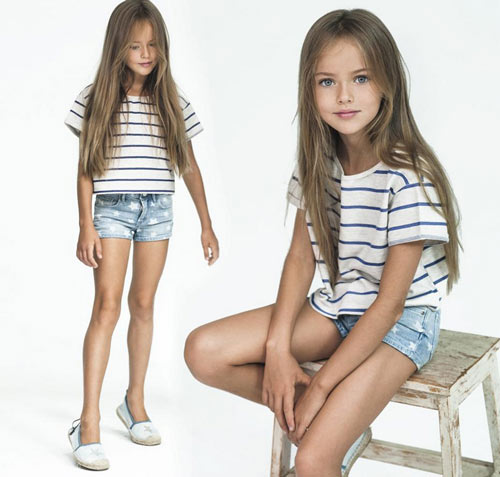 Vẻ đẹp thần tiên của cô bé xinh đẹp nhất nước Nga - 6