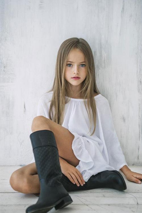 Vẻ đẹp thần tiên của cô bé xinh đẹp nhất nước Nga - 7