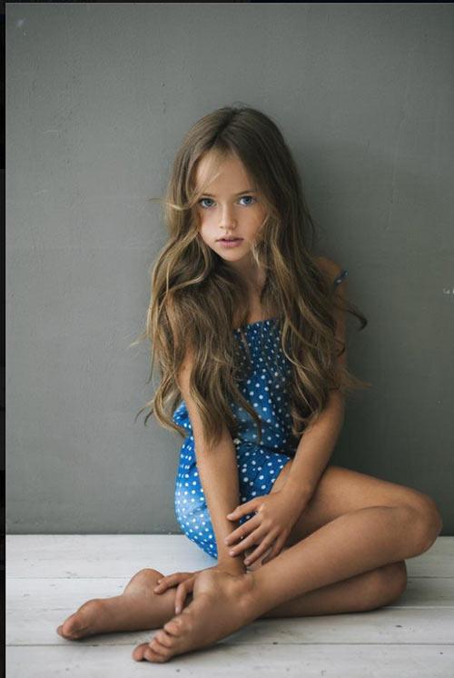 Vẻ đẹp thần tiên của cô bé xinh đẹp nhất nước Nga - 11