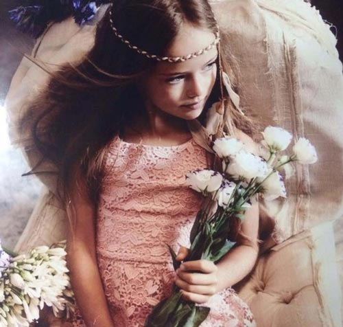 Vẻ đẹp thần tiên của cô bé xinh đẹp nhất nước Nga - 15