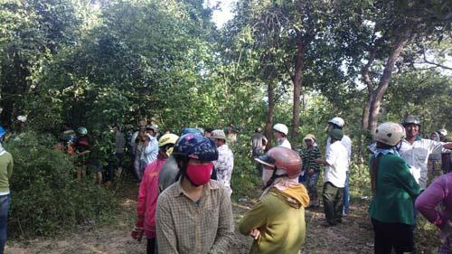 Thiếu nữ 19 tuổi chết bất thường trong rừng - 1