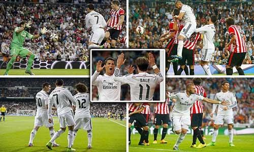 Real - Bilbao: Thêu hoa dệt gấm - 1
