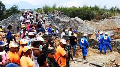 Sập mỏ vàng ở Indonesia, it nhất 18 người chết - 1