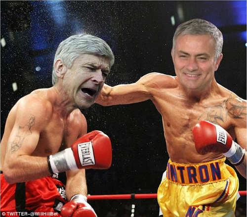 Wenger vẫn chưa hết bực sau màn xô đẩy Mourinho - 6
