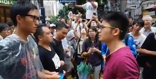 Dân Hong Kong sụp lạy sinh viên biểu tình - 2