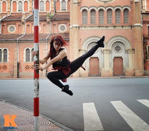 Ngọc Anh: Người đẹp cá tính đam mê dance sport - 2