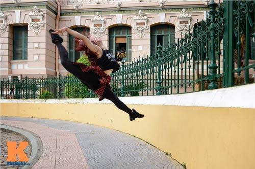 Ngọc Anh: Người đẹp cá tính đam mê dance sport - 4
