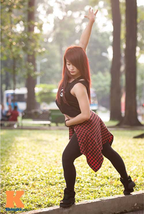 Ngọc Anh: Người đẹp cá tính đam mê dance sport - 5