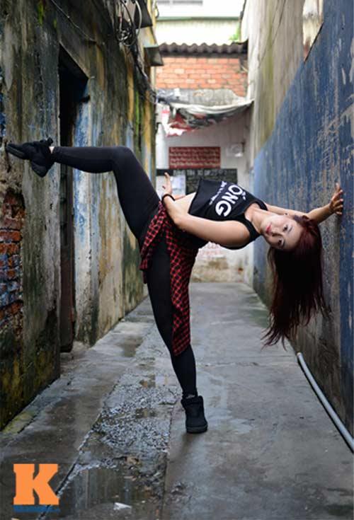 Ngọc Anh: Người đẹp cá tính đam mê dance sport - 7