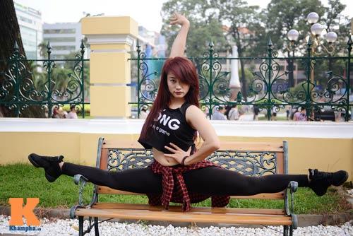 Ngọc Anh: Người đẹp cá tính đam mê dance sport - 1