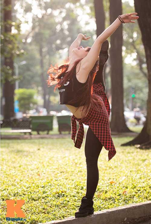 Ngọc Anh: Người đẹp cá tính đam mê dance sport - 8