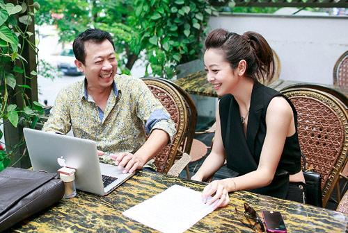 Jennifer Phạm duyên dáng gặp lại Vân Sơn - 2
