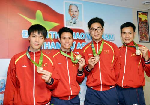 Nhìn lại toàn cảnh Thể thao Việt Nam tại Asiad 17 - 10