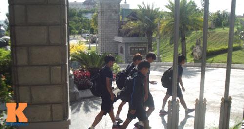 """U19 Hàn sắp """"chiến"""" U19 VN: Ấn tượng thể hình cao to - 5"""