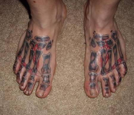 10 hình xăm kỳ quặc ở… chân - 8