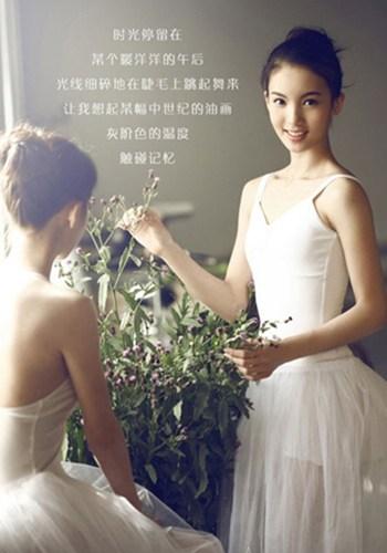 Vẻ đẹp ngọt ngào của hoa khôi trường múa - 4