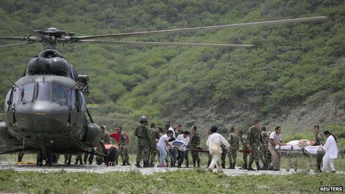 Colombia: Lên núi cầu khấn, 11 người bị sét đánh chết - 2