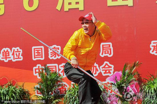 """""""Tôn Ngộ Không"""" đề cử kỷ lục thế giới cho màn múa gậy - 8"""