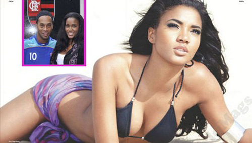 Hoa hậu Hoàn vũ hé lộ bí mật của Ronaldinho - 1