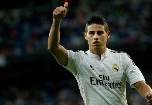 Rodriguez muốn thành công như Di Maria tại Real - 1