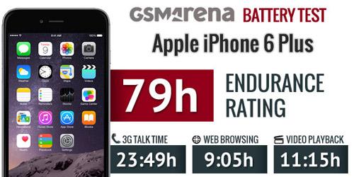 Đánh giá thời lượng pin trên iPhone 6 Plus - 5