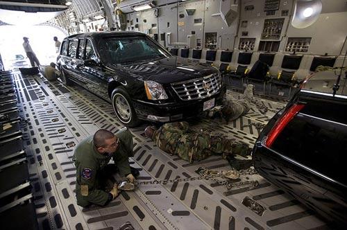 10 tiết lộ về siêu xe của Tổng thống Obama - 8