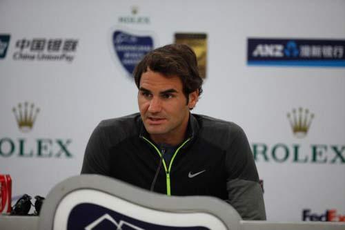 Federer tự tin hạ gục Djokovic ở Thượng Hải - 1