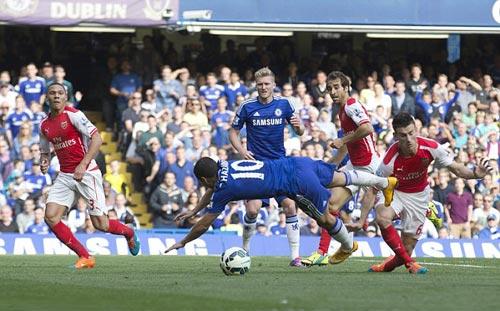 Hàng thủ Arsenal: Chuyên gia phá hoại - 1