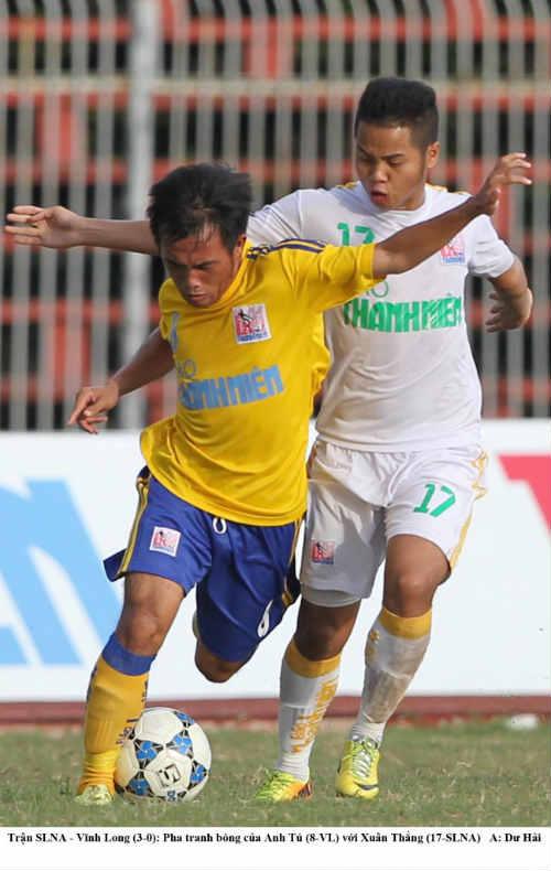 Hà Nội T&T cùng Sông Lam Nghệ An vào bán kết giải U21 báo Thanh niên - 2