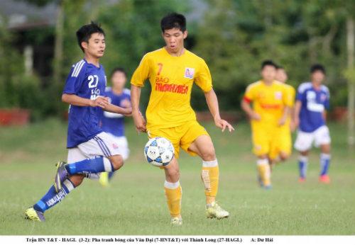 Hà Nội T&T cùng Sông Lam Nghệ An vào bán kết giải U21 báo Thanh niên - 3
