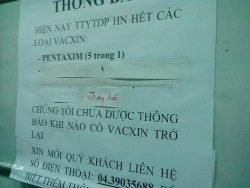 Bộ Y tế: Không lo thiếu vắc xin dịch vụ - 1