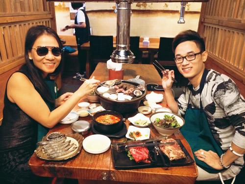 Thầy trò Thu Minh đón Thu lãng mạn tại Hàn Quốc - 10