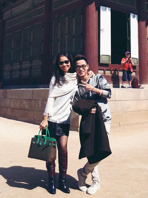 Thầy trò Thu Minh đón Thu lãng mạn tại Hàn Quốc - 8