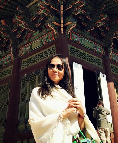 Thầy trò Thu Minh đón Thu lãng mạn tại Hàn Quốc - 2