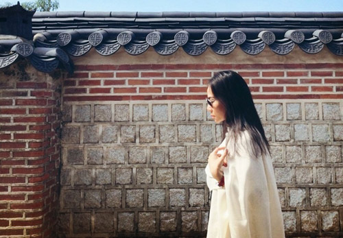 Thầy trò Thu Minh đón Thu lãng mạn tại Hàn Quốc - 3