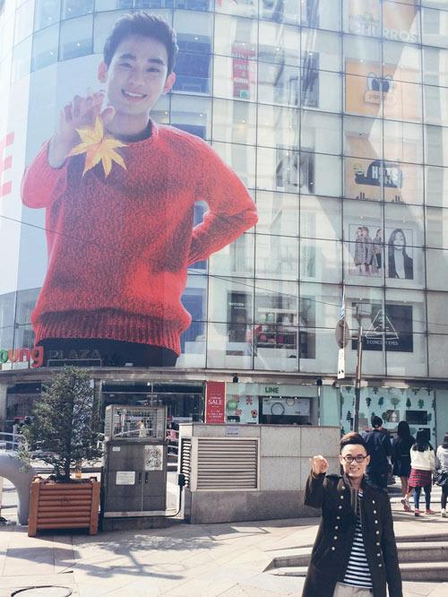 Thầy trò Thu Minh đón Thu lãng mạn tại Hàn Quốc - 12
