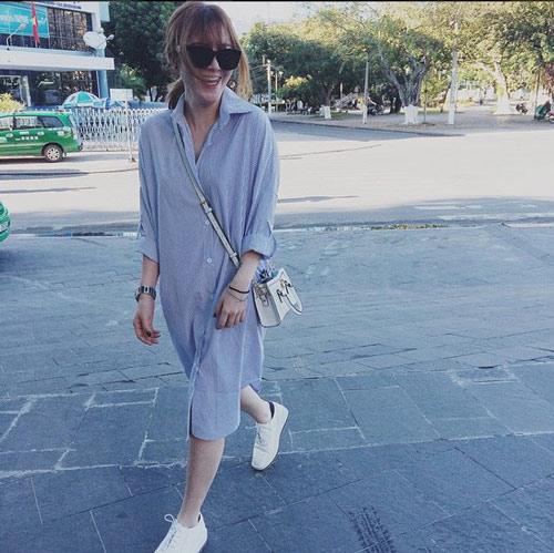 Kiều nữ Việt mặc gì ngày chuyển mùa? - 1