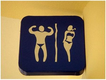 Những biển cấm kỳ cục trong toilet các nước - 3