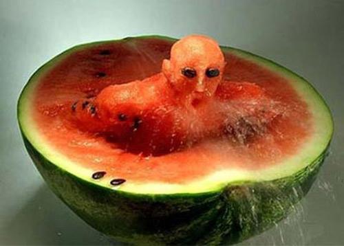 Những hình ảnh hài hước vui nhộn về rau củ quả - 3