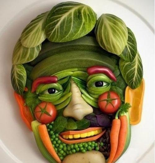 Những hình ảnh hài hước vui nhộn về rau củ quả - 4