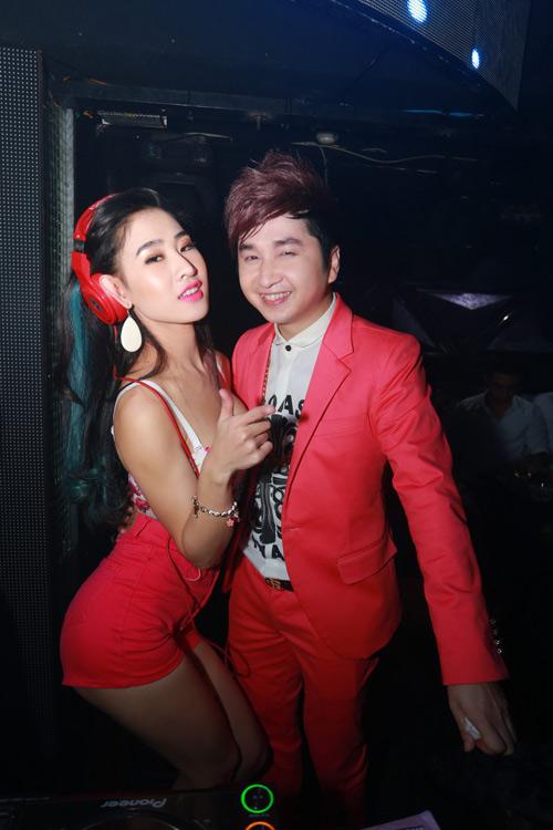 DJ Oxy nóng bỏng mừng sinh nhật hôn phu Bằng Cường - 2