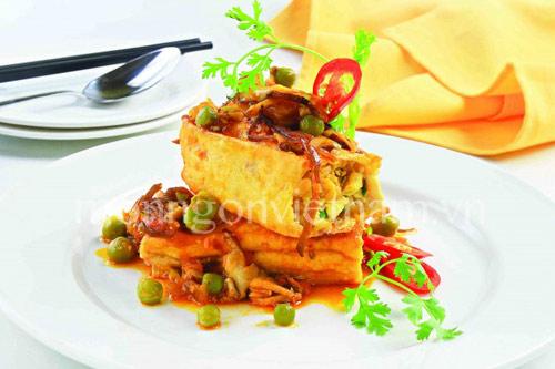 Ngon giản dị đậu hũ nhồi nấm - 1
