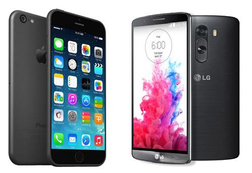 iPhone 6 Plus và LG G3: Mèo nào cắn mỉu nào? - 2