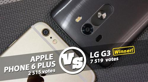 iPhone 6 Plus và LG G3: Mèo nào cắn mỉu nào? - 1