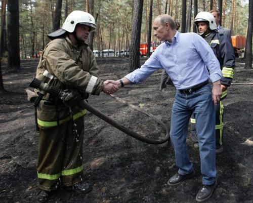 Tổng thống Nga, Mỹ phong độ với quần jeans - 10