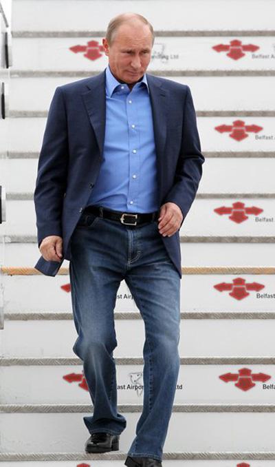 Tổng thống Nga, Mỹ phong độ với quần jeans - 11